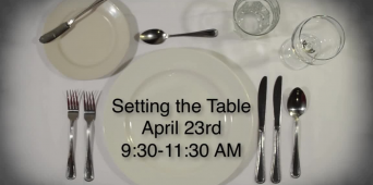 Setting the Table: A Regional Simulcast [VIDEO]