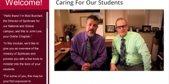 Spiritcare: Caring for Our Students [VIDEO]