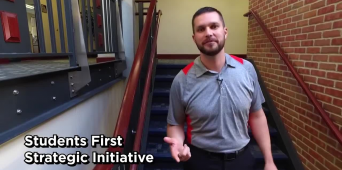 Facebook Fridays with Adam Binkerd, Assistant Director of Student Success: Students First Strategic Initiative [PROMO VIDEO]
