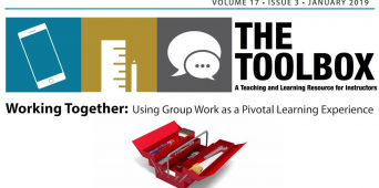 The Toolbox: Working Together--Using Group Work as a Pivotal Learning Experience [VIDEO]