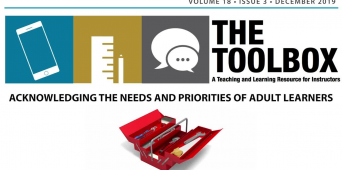 The Toolbox: Acknowledging the Needs and Priorities of Adult Learners [VIDEO]