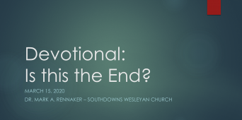 Is This the End?: A Believer's Response [VIDEO]